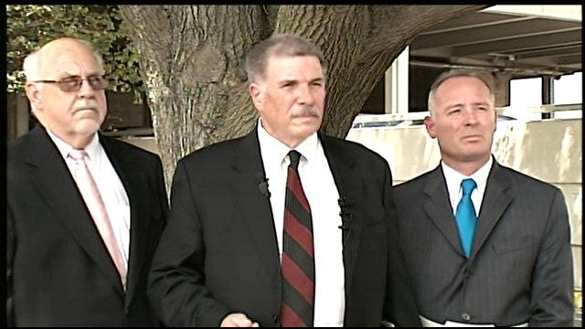 """Press Conference For OKC Police Officer""""s Resignation"""