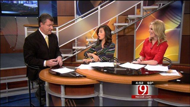 News 9 Sports Reporter Steve McGehee Talks About NFL Lockout