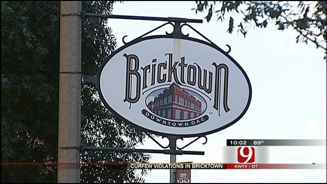 Bricktown Curfew Arrests Rankle Parents