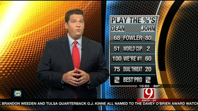 Play the Percentages: July 17, 2011