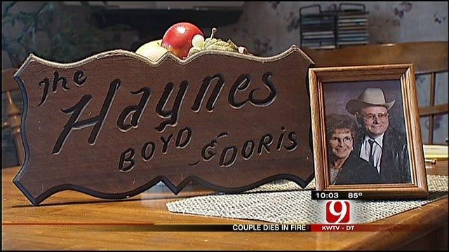 Haynes' Son Focuses On Memory of Parents