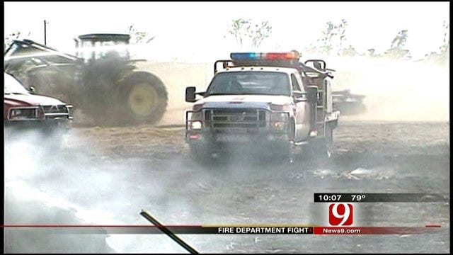 Cashion Mayor Sends Letter About Fire Chief Controversy