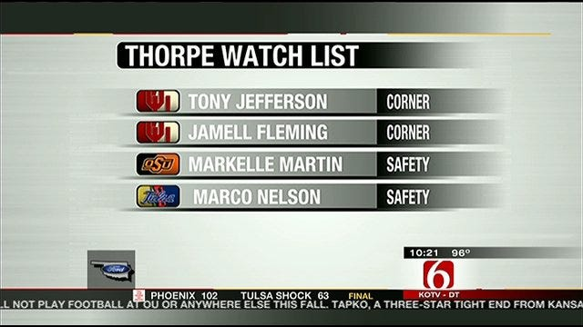 Thorpe Watch List
