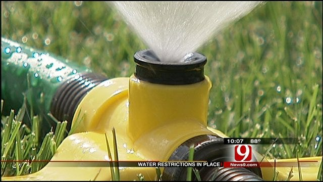 Oklahoma City, Surrounding Cities Issue Mandatory Water Restrictions