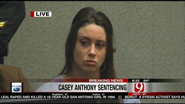Judge Sentences Casey Anthony