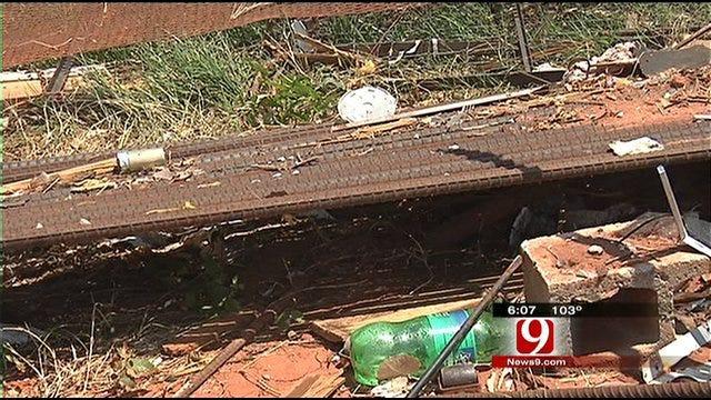 Tornado Victim Hit By Looters