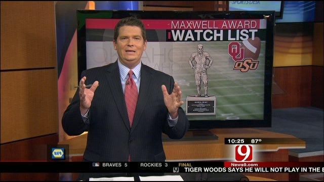 Maxwell And Bednarik Watch List Candidates