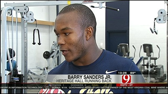 Barry Sanders Jr. Discusses His Top Four Schools