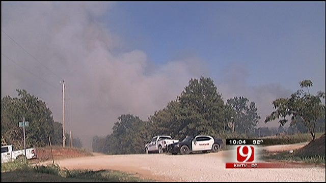 Grassfire Scorches Portions of Lincoln County