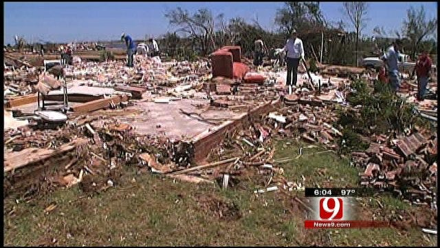 Piedmont Tornado Victims Still Picking Up