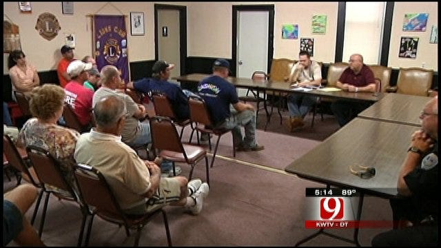 Cashion Firefighters, Residents In Limbo