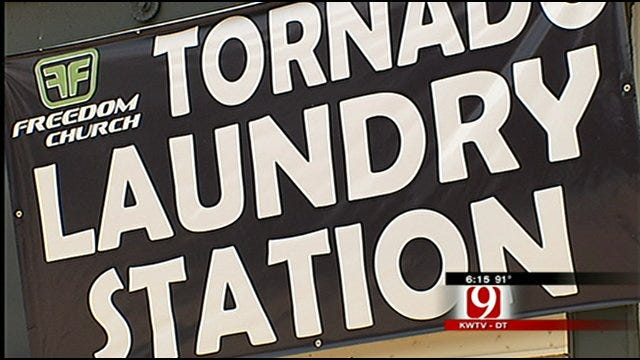 Free Laundry Service Welcome Treat For Oklahoma Tornado Victims