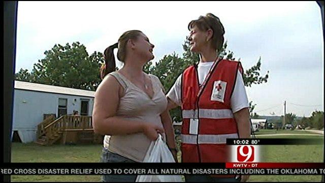Red Cross Volunteers Help Keep Oklahomans' Spirits High