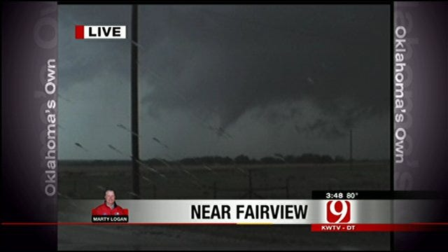 News 9 Storm Trackers Spot Several Tornadoes
