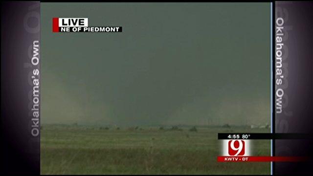 Tracking Tornado Near Piedmont