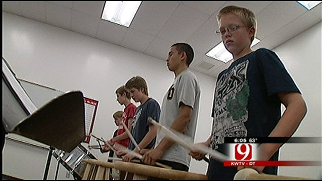 Oklahoma Drumline Marching To The Beat Of Their Own 'Drums'