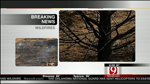 Residents Upset By Oklahoma Counties Not Under Burn Ban
