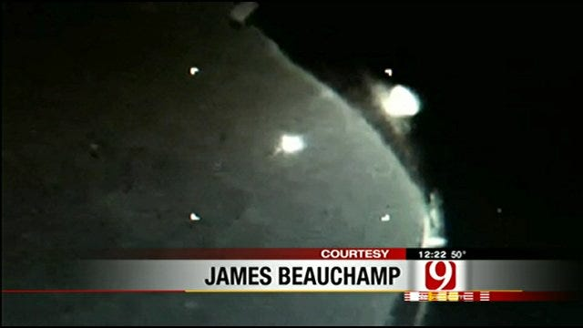 Viewer Sends In Video Of Mysterious Bright Light In Oklahoma Sky