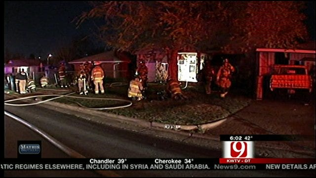 Man Wakes Up To Fire In Home, Gets Family Out Safely