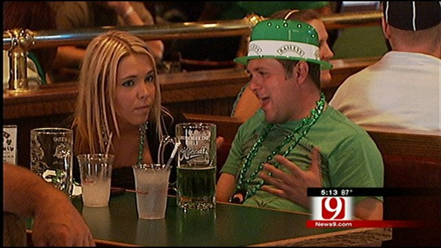 St. Patty's Day Celebration In Full Swing