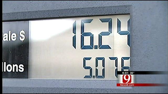 Gas Prices Spike, Oklahomans Tighten Purse Strings