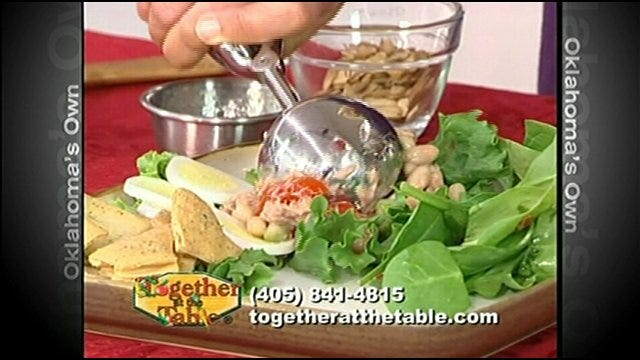Tuscan-Style Tuna Salad, Spinach Strawberry Salad