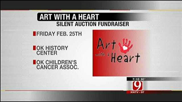 'Art With A Heart' Benefits Kids With Cancer