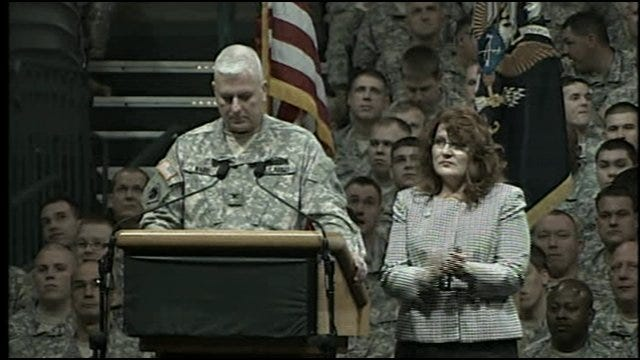 Farewell Ceremony: Col. Joel Ward