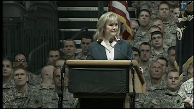 Farewell Ceremony: Gov. Mary Fallin