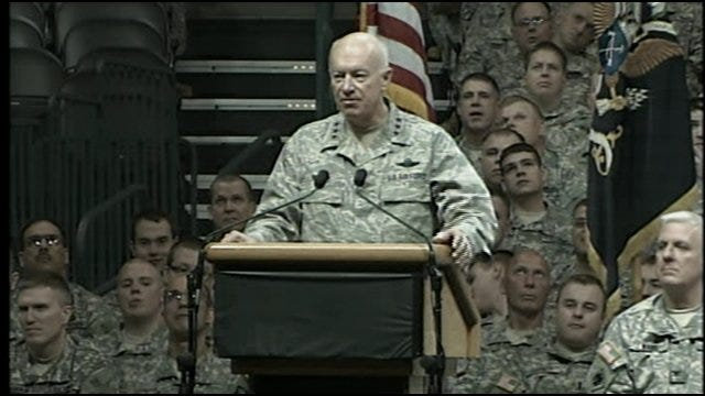 Farewell Ceremony: Major Gen. Miles Deering