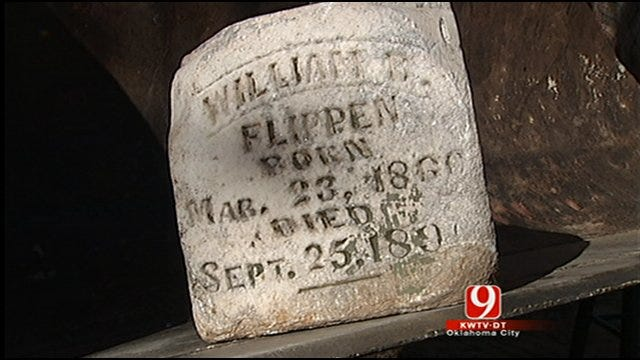 Choctaw Man Searches For Family Of Displaced Tombstone