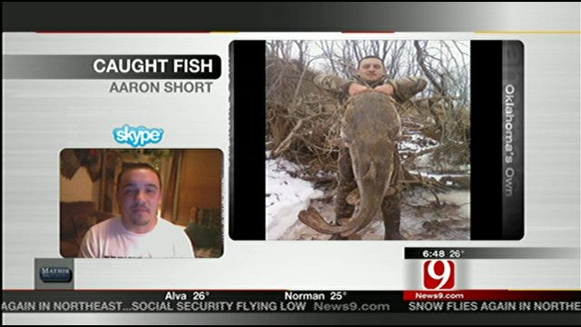 Man Who Caught Giant Fish Discusses His Big Day