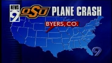 2001: News 9 Breaking News Coverage of OSU Plane Crash