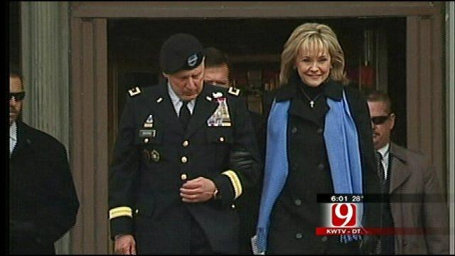 Hundreds Brave Snow, Ice For Gov. Mary Fallin's Inauguration
