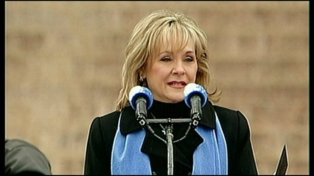 Mary Fallin Delivers Inaugural Speech