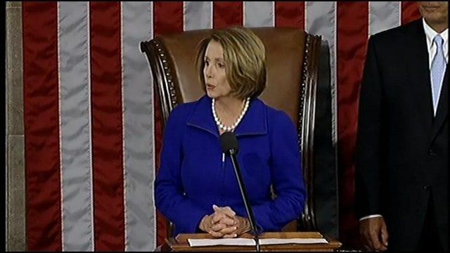 My 2 Cents: House Speaker Nancy Pelosi Hands Over The Gavel