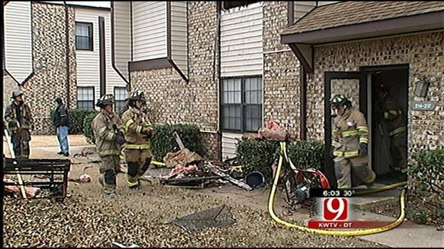 Norman Apartment Injures Two Children, Firefighter