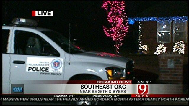 Gunman Invade Oklahoma City Home