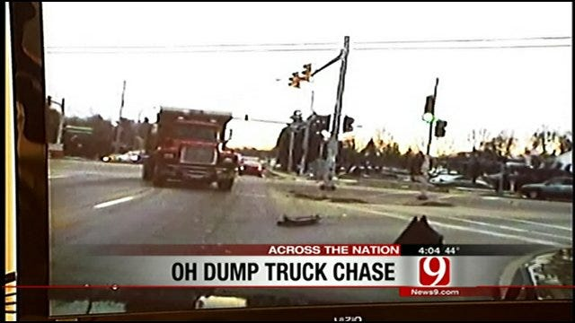Teens Accused Of Stealing Dump Truck, Ramming Police Cars