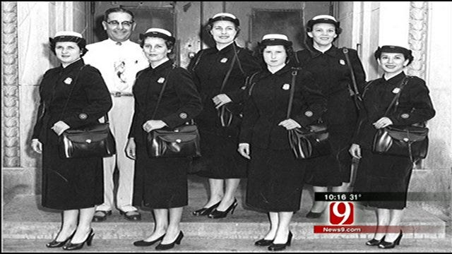 First Female Officers In Oklahoma Honored