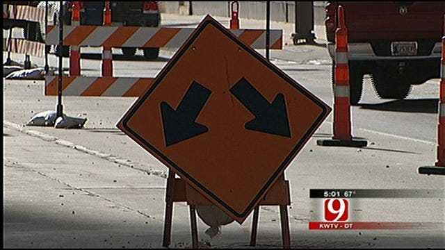 Road Construction Downtown Fuels Frustration