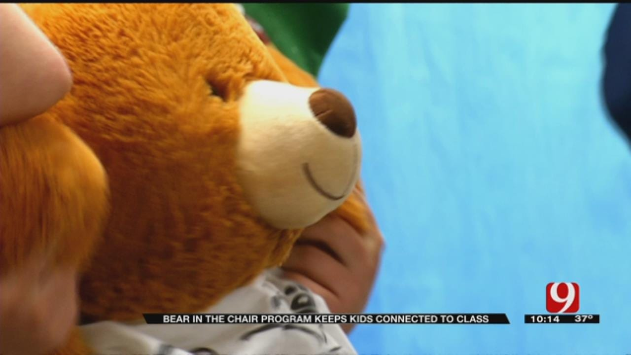 Bear In The Chair Program Keeps Young Oklahoma Patients Connected