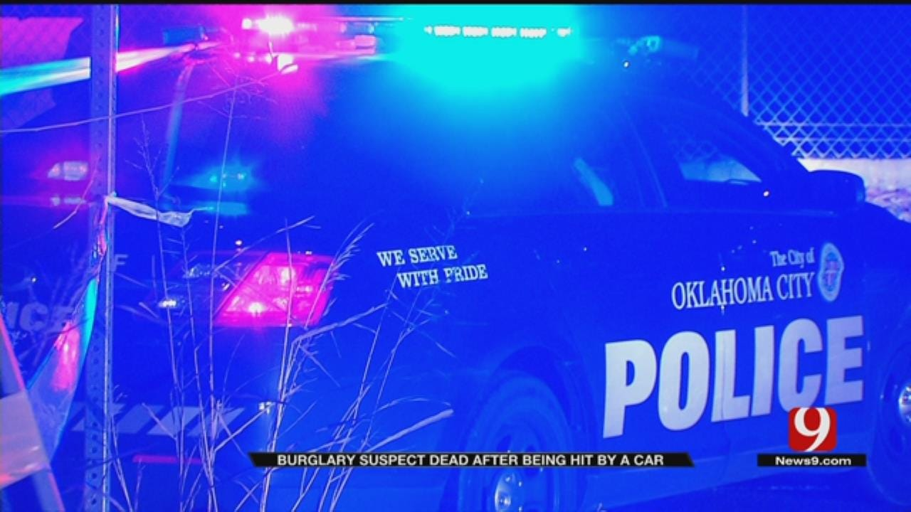 Burglary Suspect Dead After Being Hit By Car