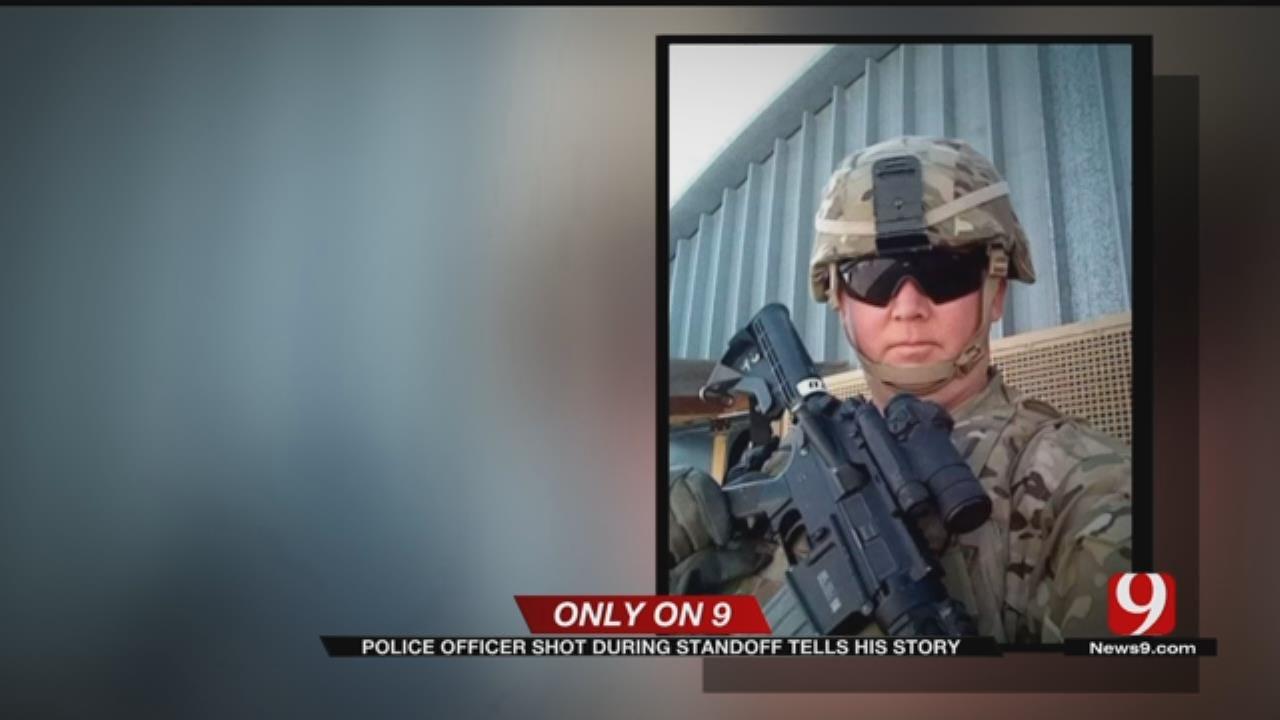Police, Military Training Helped Chickasha Officer Survive Ambush