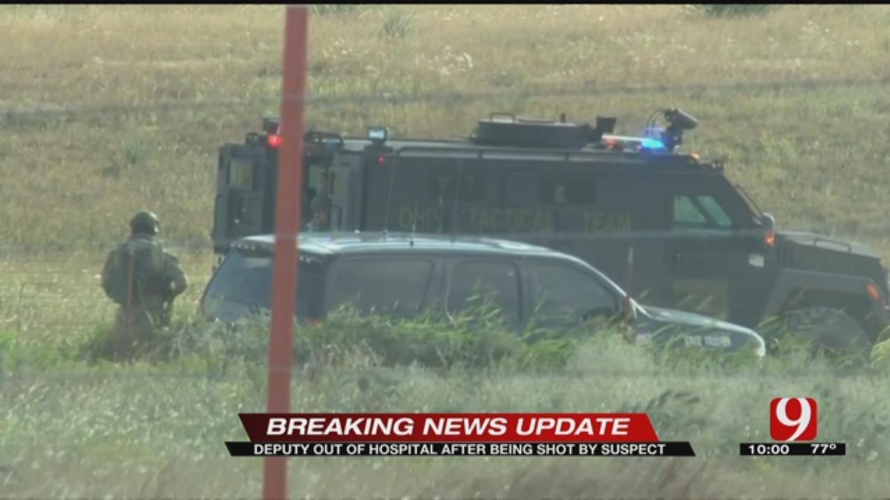 Ellis County Deputy Shot Near Woodward Saturday