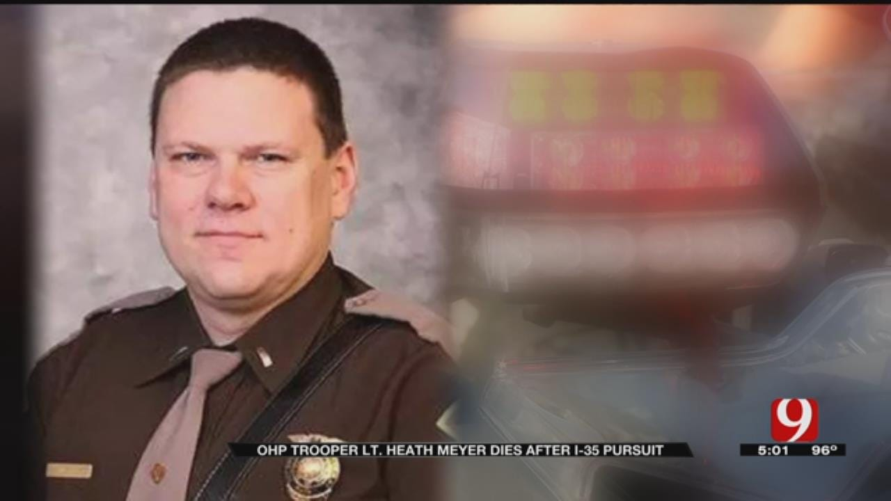 OHP Trooper Heath Meyer Dies After Pursuit On I-35