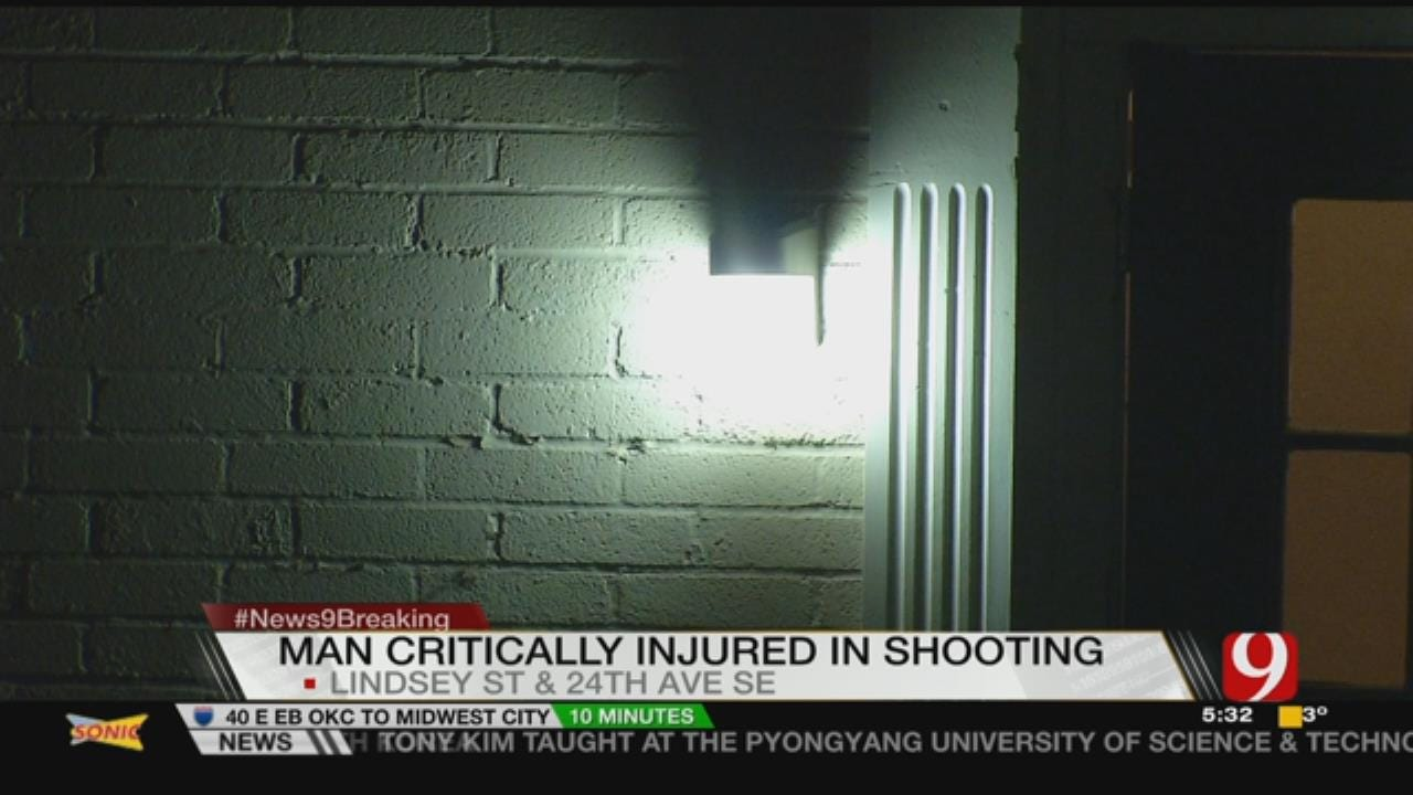 Overnight Shooting In Norman Leaves Man In Hospital