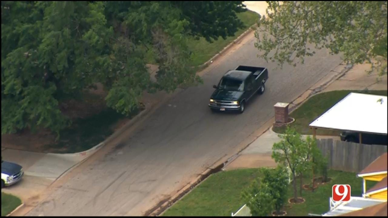 WEB EXTRA: Suspect Leads Police On Chase Around OKC