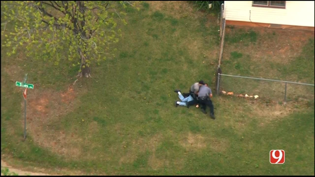 WEB EXTRA: Suspect Attacks Officer Following High-Speed Pursuit