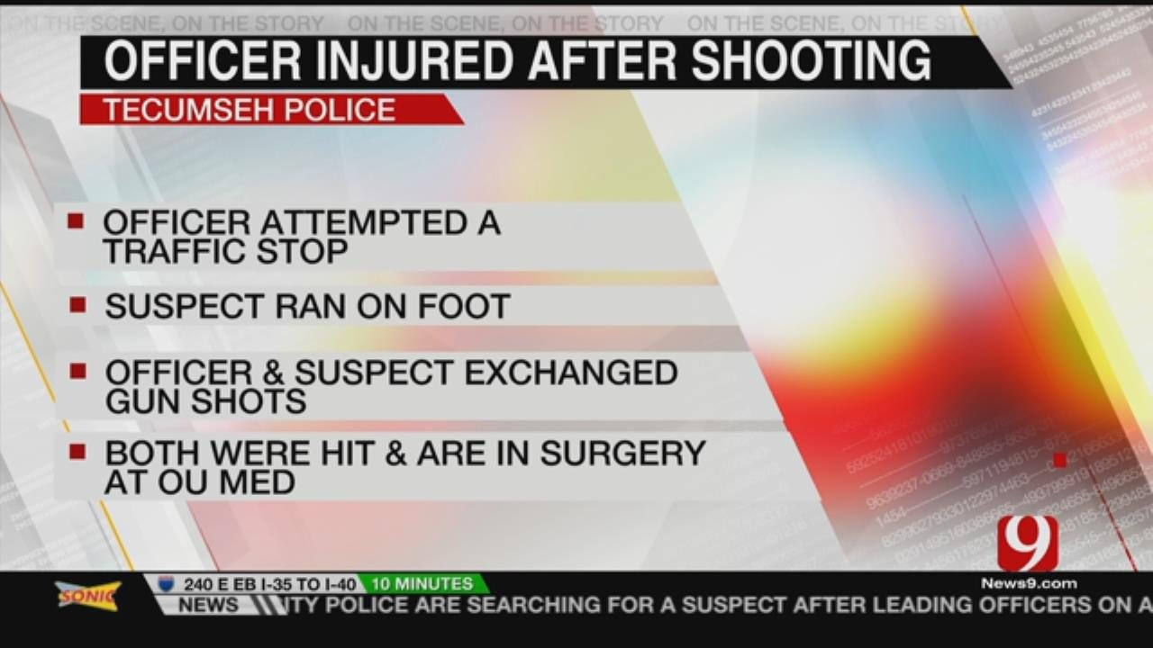Tecumseh Officer Shot, In Hospital After Sunday Night Pursuit